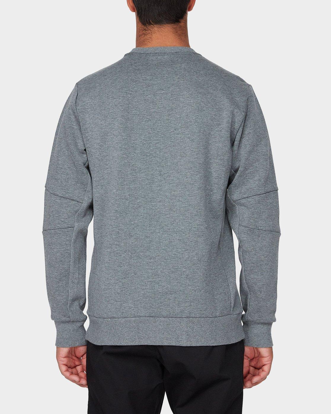 2 Sideline Sweatshirt Grey R393161 RVCA