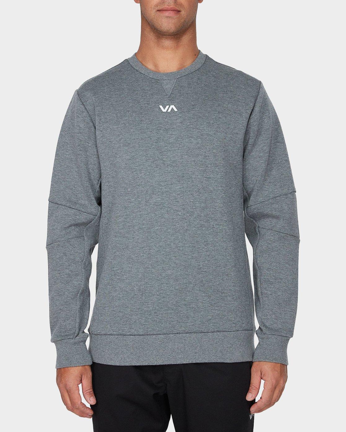 0 Sideline Sweatshirt Grey R393161 RVCA