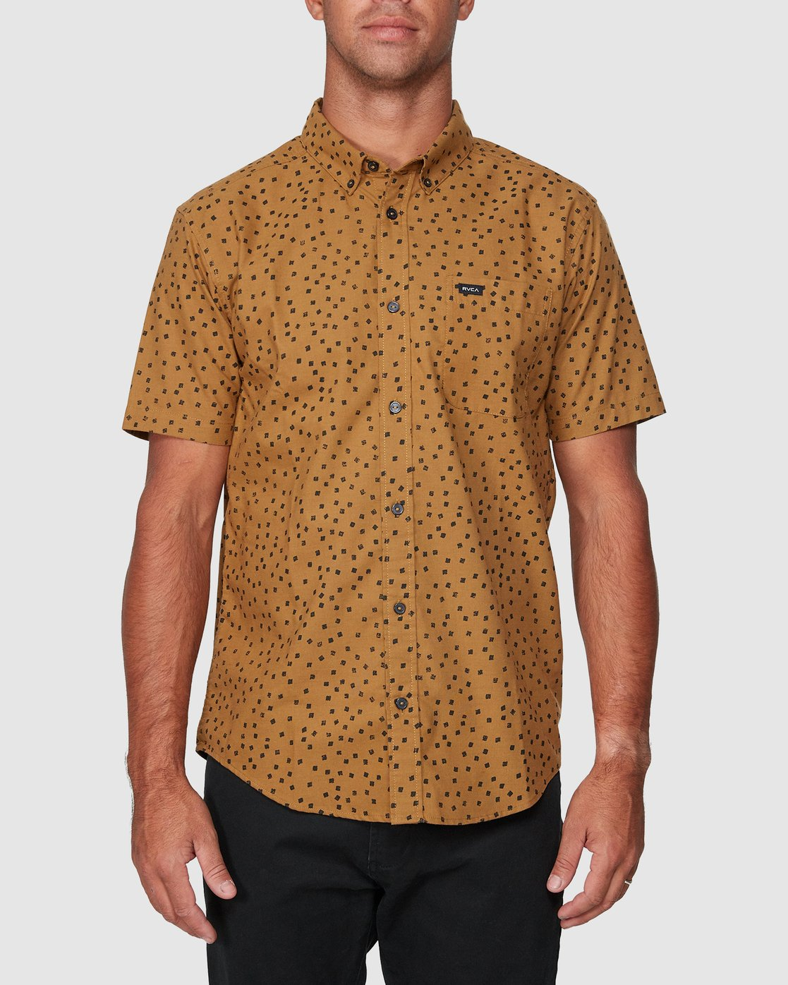1 Thatll Do Print Short Sleeve Shirt  R393188 RVCA