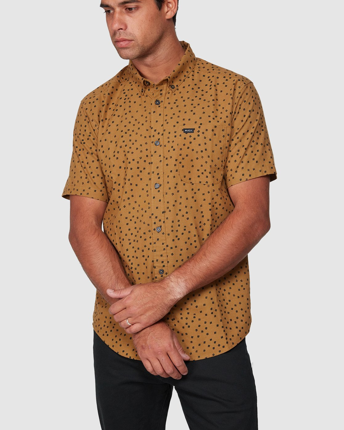 0 Thatll Do Print Short Sleeve Shirt  R393188 RVCA
