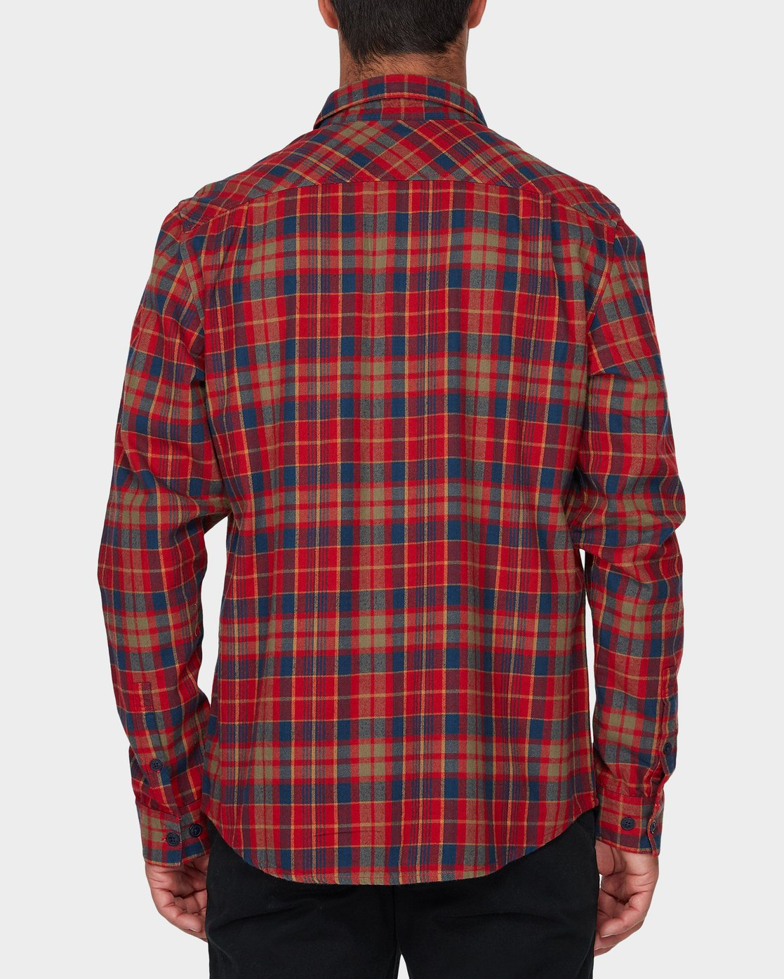 2 Watt Flannel Long Sleeve Shirt  R393200 RVCA
