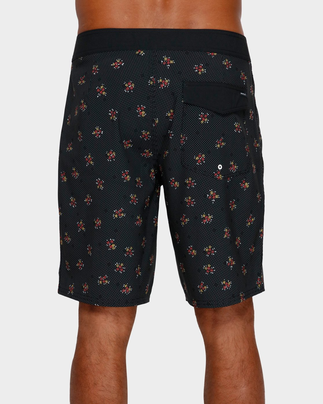 2 VA Trunk Print Black R393410 RVCA