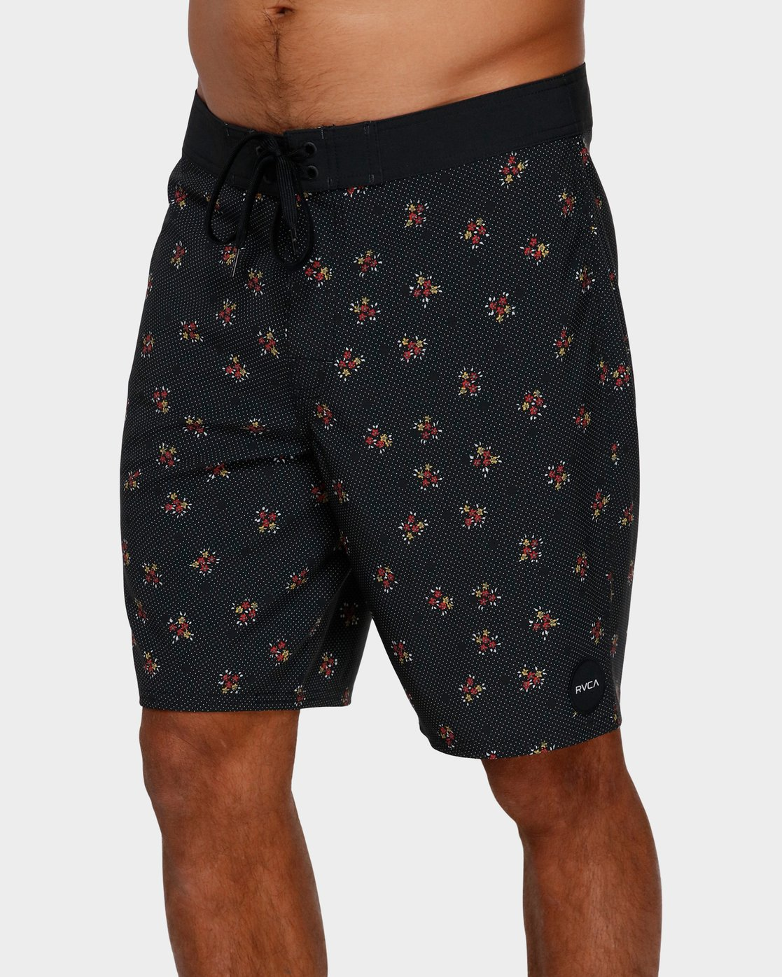 0 VA Trunk Print Black R393410 RVCA