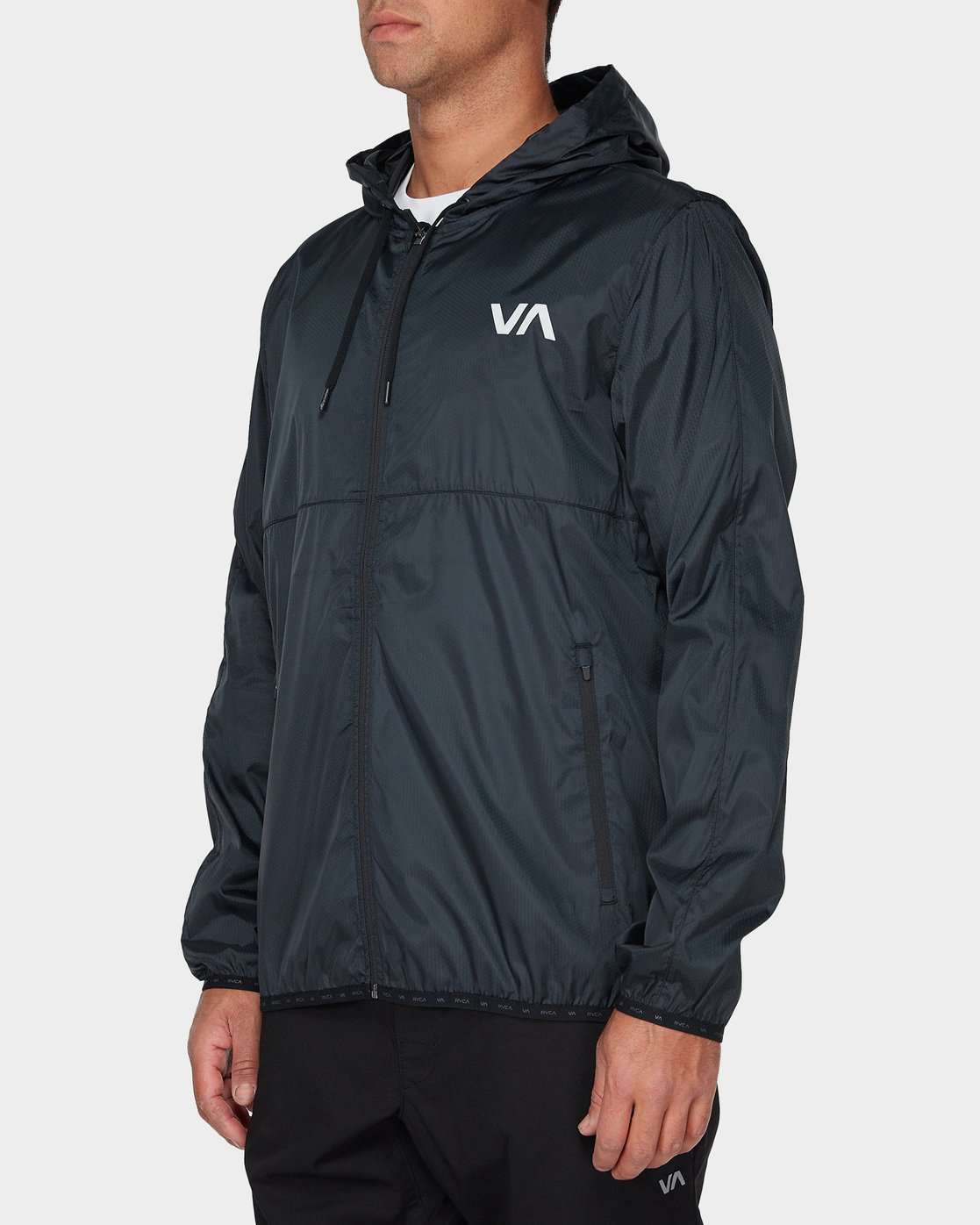 1 Hexstop Iv Jacket Black R393436 RVCA