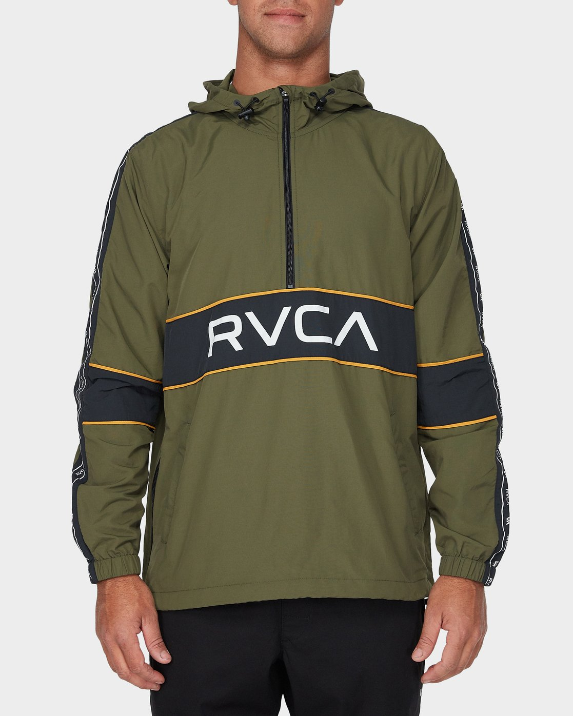0 Adapter Anorak Jacket Green R393439 RVCA