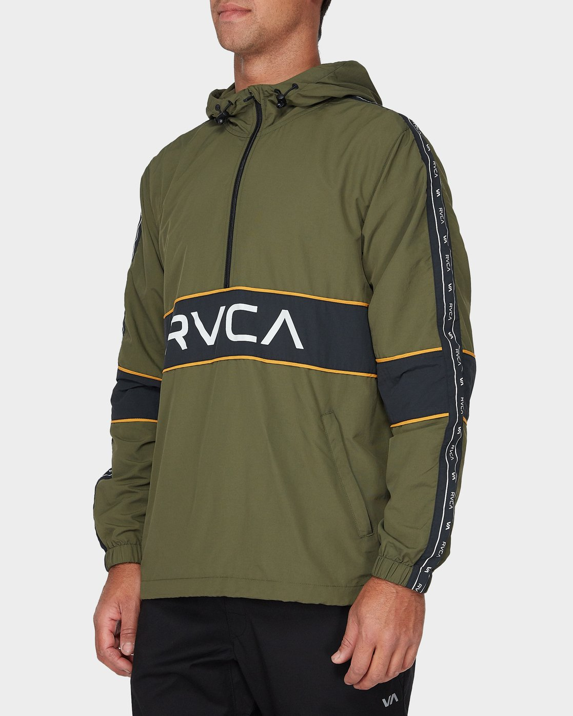 1 Adapter Anorak Jacket Green R393439 RVCA