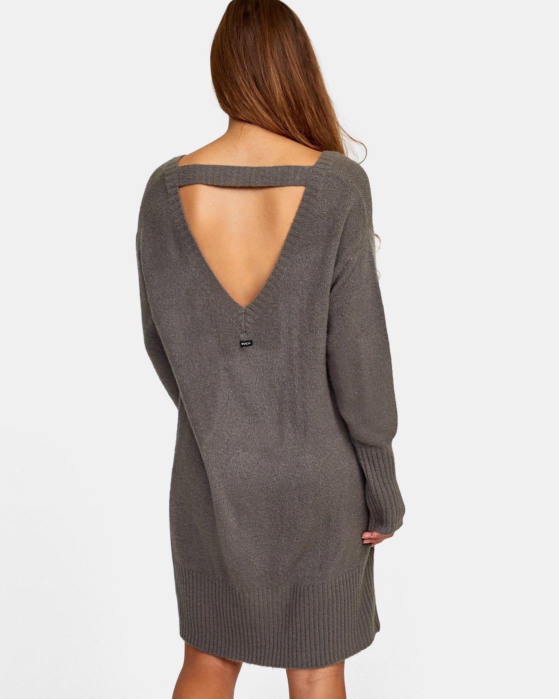 3 Quartz - Jumper Dress for Women Gray R3DRRGRVW9 RVCA