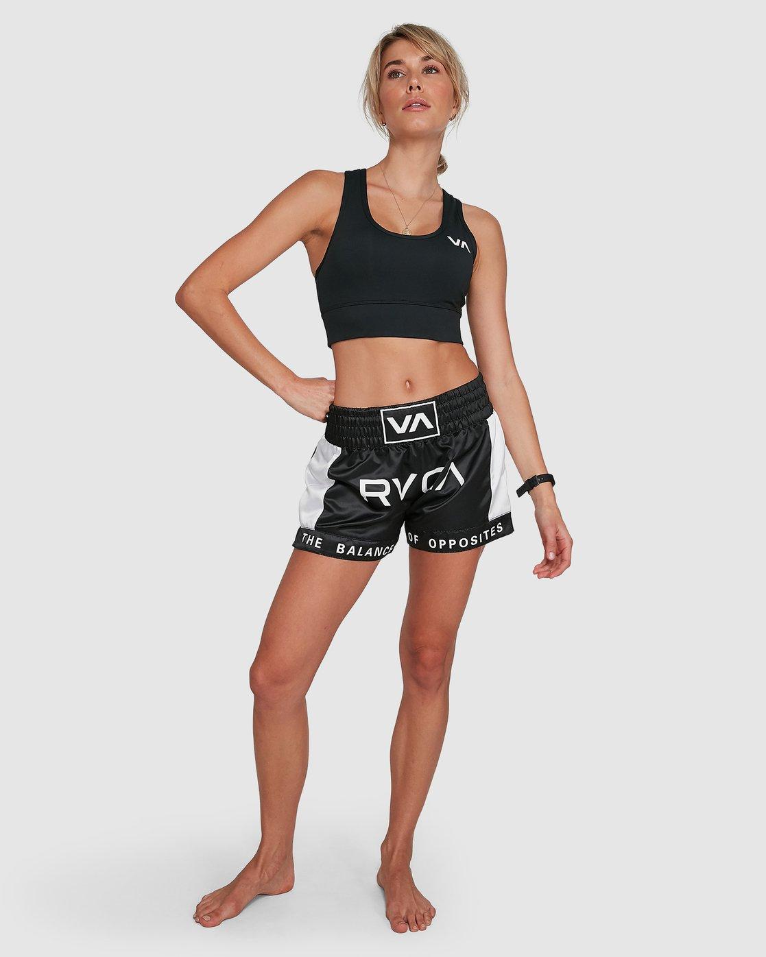 6 Rvca Muay Thai Short Black R405312 RVCA