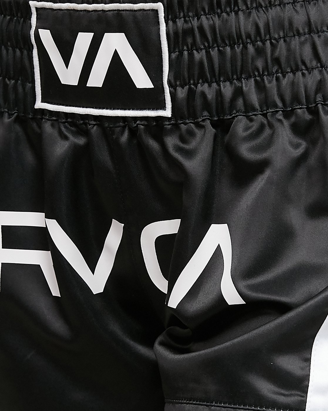 5 Rvca Muay Thai Short Black R405312 RVCA