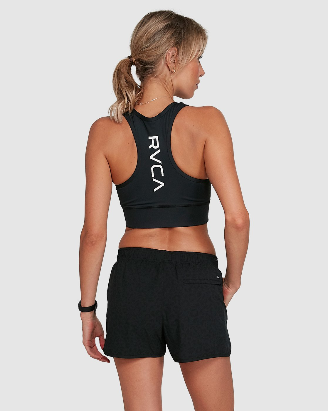 2 Womens Yogger Stretch Short Black R405313 RVCA