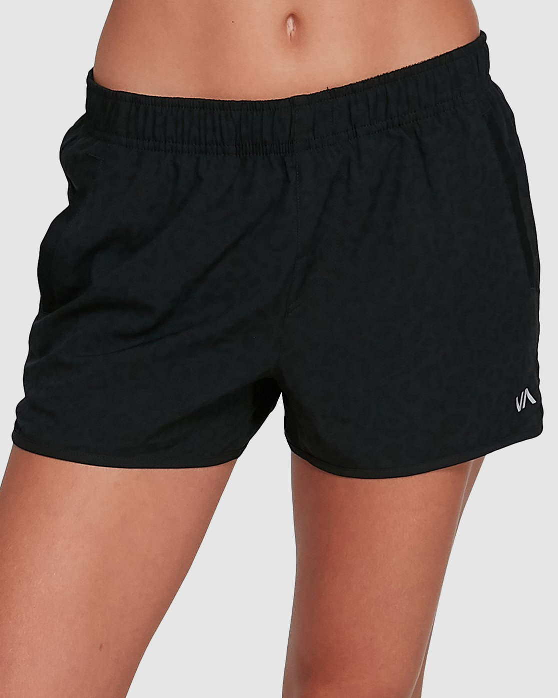 3 Womens Yogger Stretch Short Black R405313 RVCA
