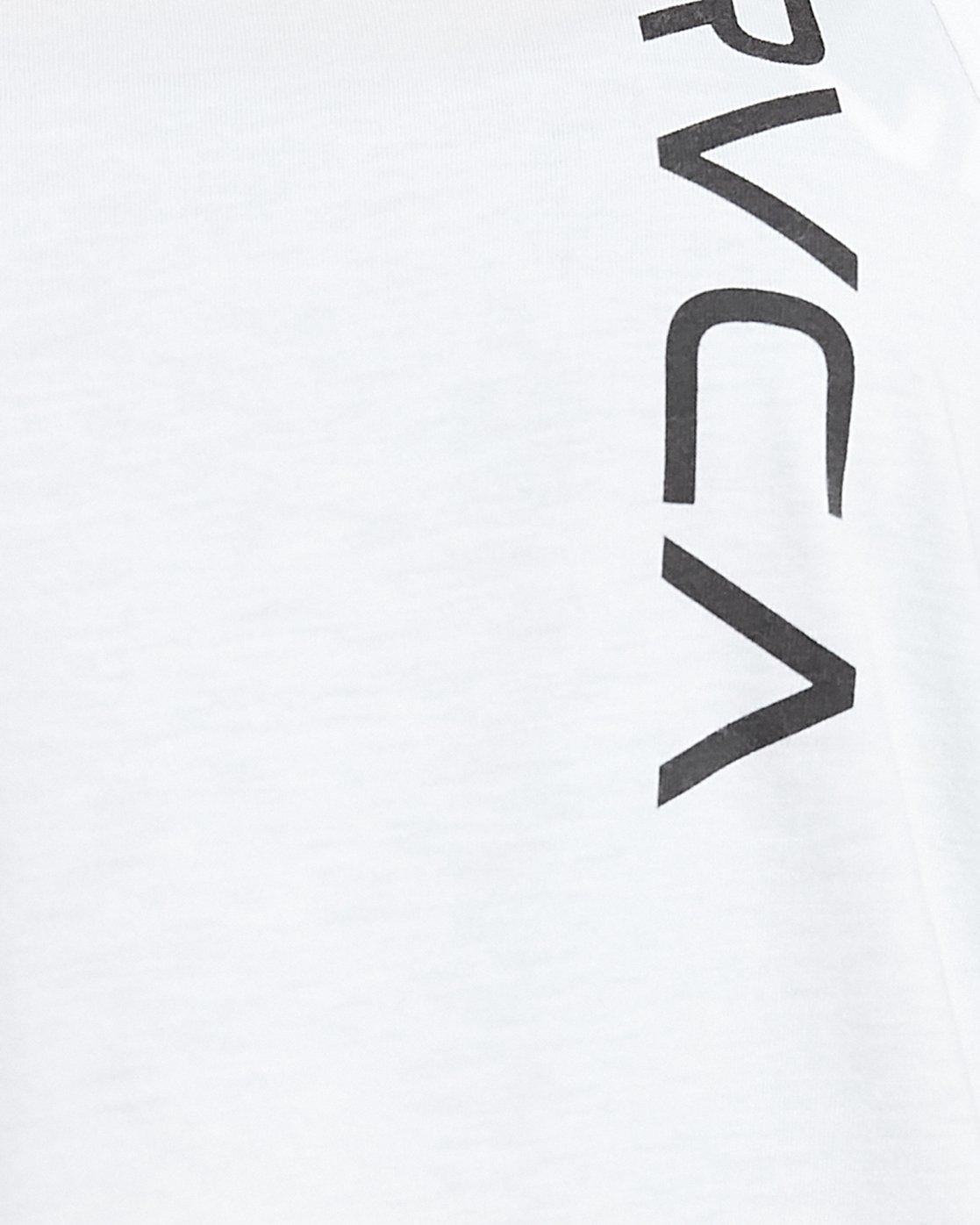 7 Va Muscle Top White R405703 RVCA