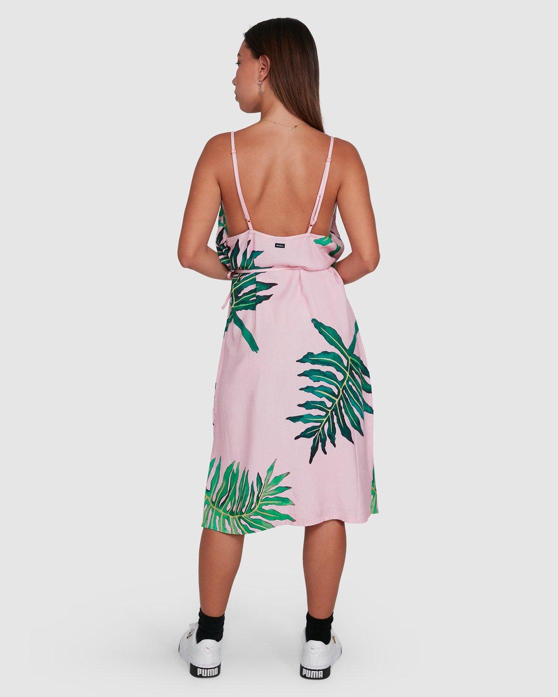 3 PALMER DRESS Pink R405754 RVCA