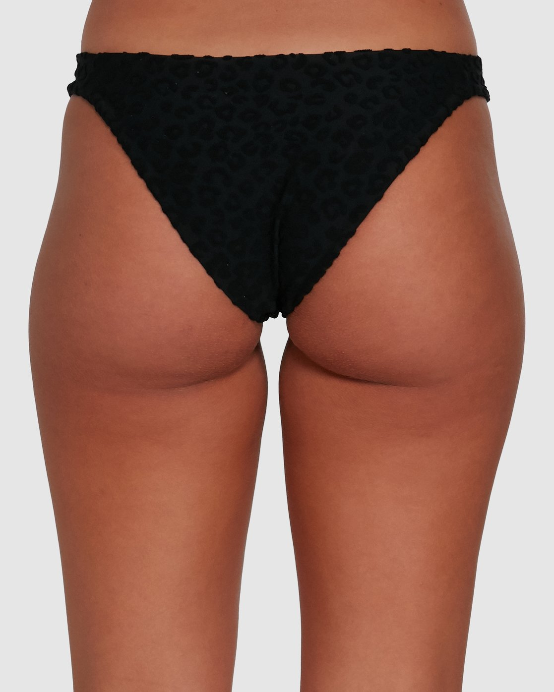 5 WILD MEDIUM BIKINI BOTTOMS Black R405828 RVCA