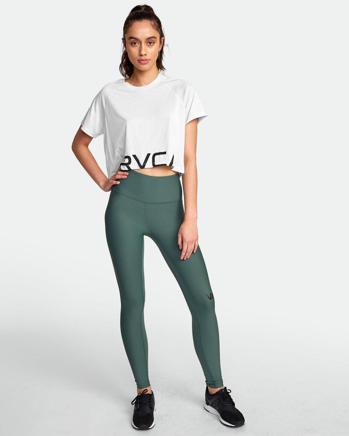 3 VA Short Sleeve Tee White R407874 RVCA