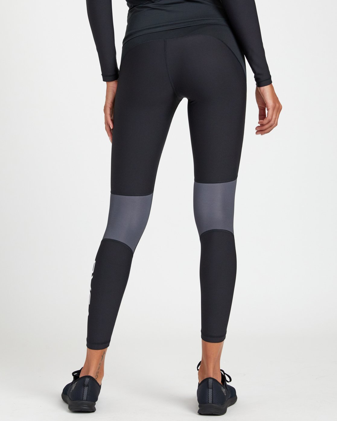 2 COMPRESSION LEGGING Black R407883 RVCA