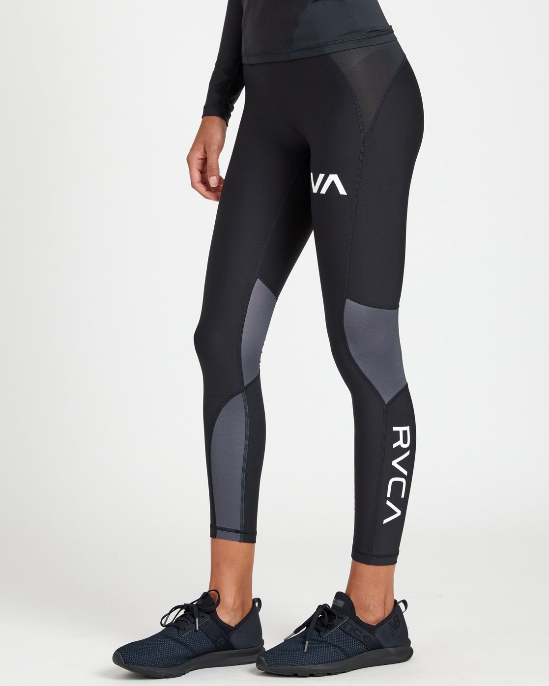 1 COMPRESSION LEGGING Black R407883 RVCA
