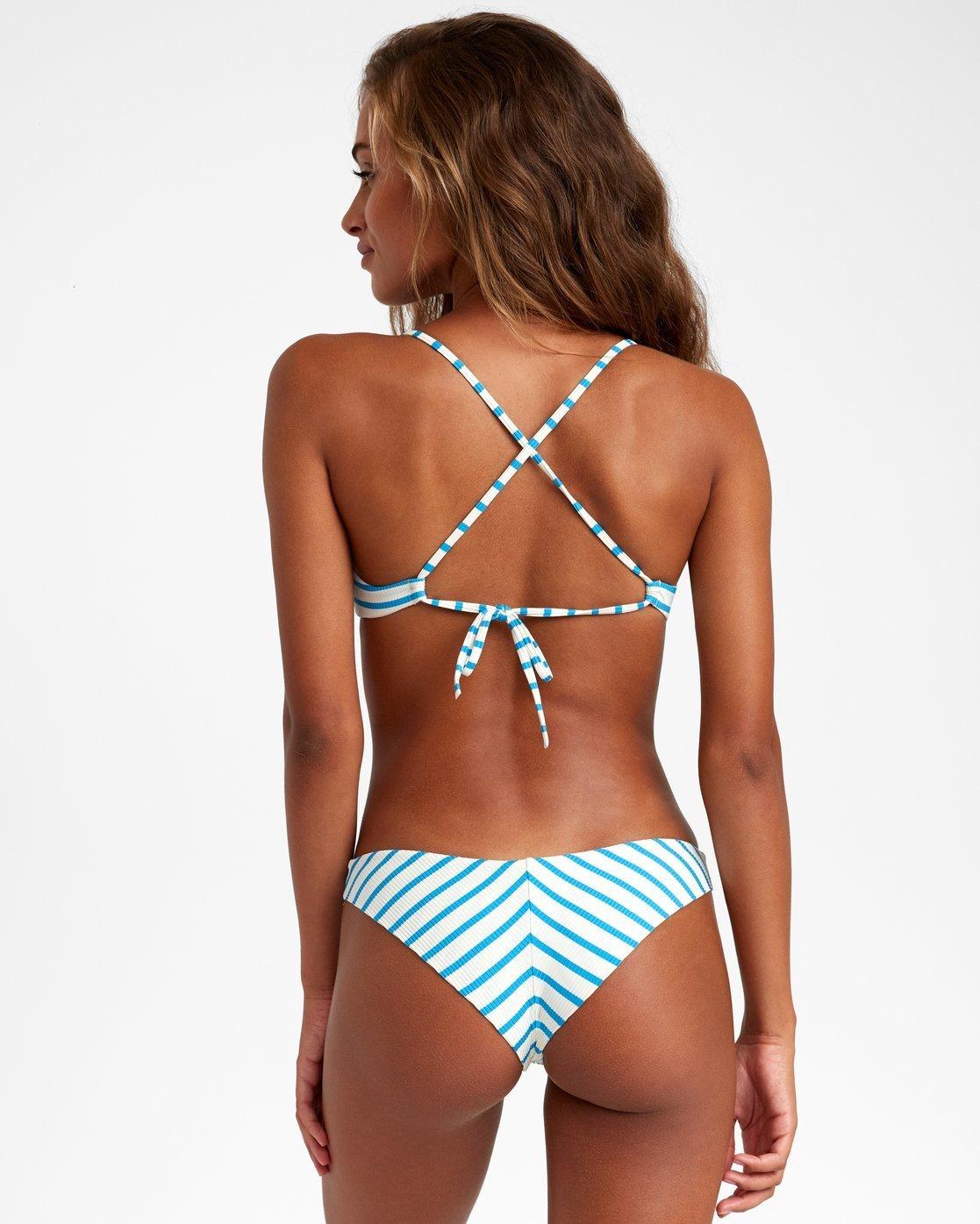 RVCA Womens Moxie Cheeky Bikini Bottom