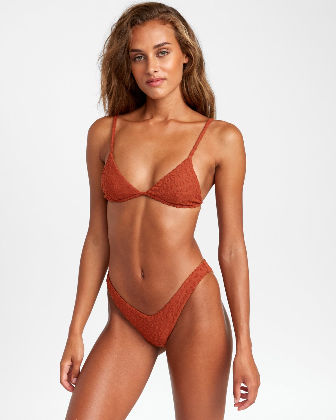 1 Wild French Bikini Bottoms Brown R408647 RVCA