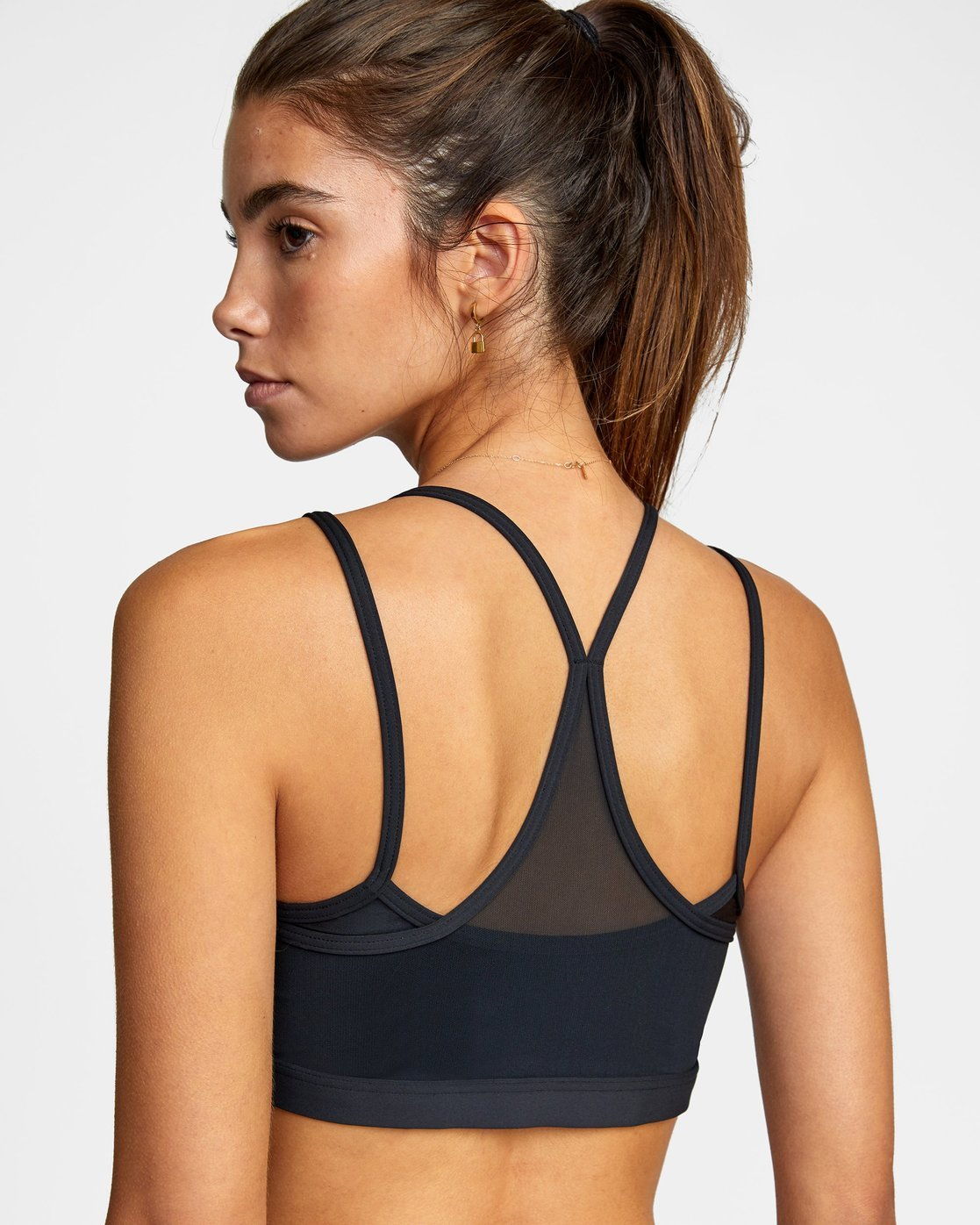 3 STRAPPY BRA Black R417702 RVCA