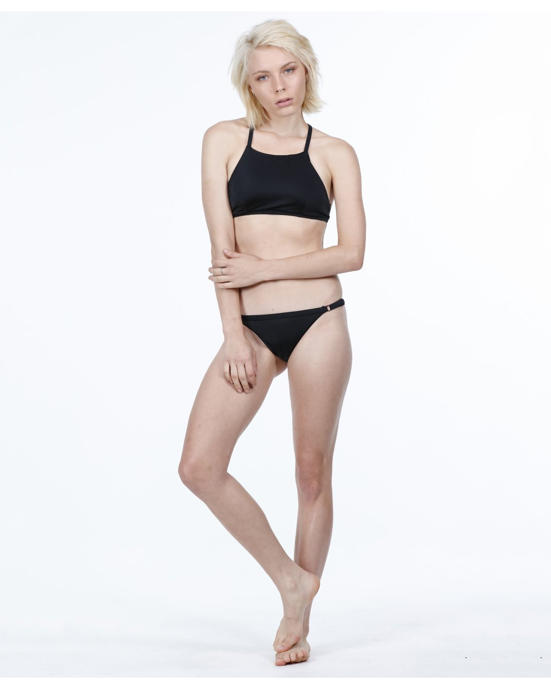 5 Solid Medium Bikini Pant Black R471802 RVCA