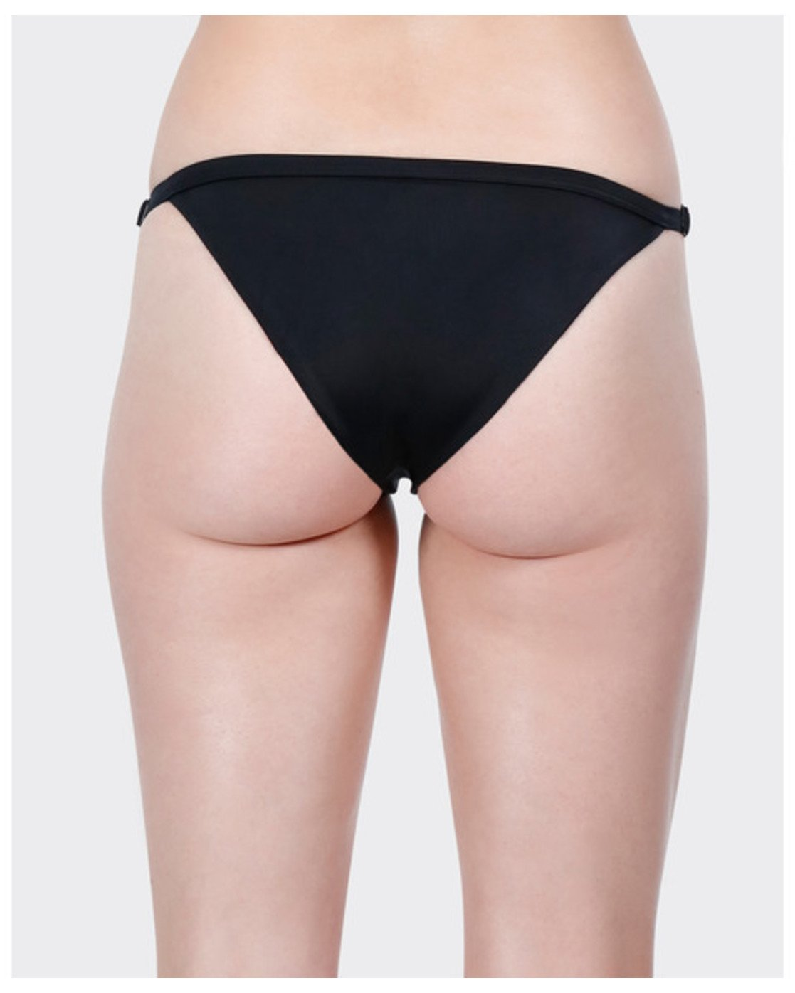 4 Solid Medium Bikini Pant Black R471802 RVCA