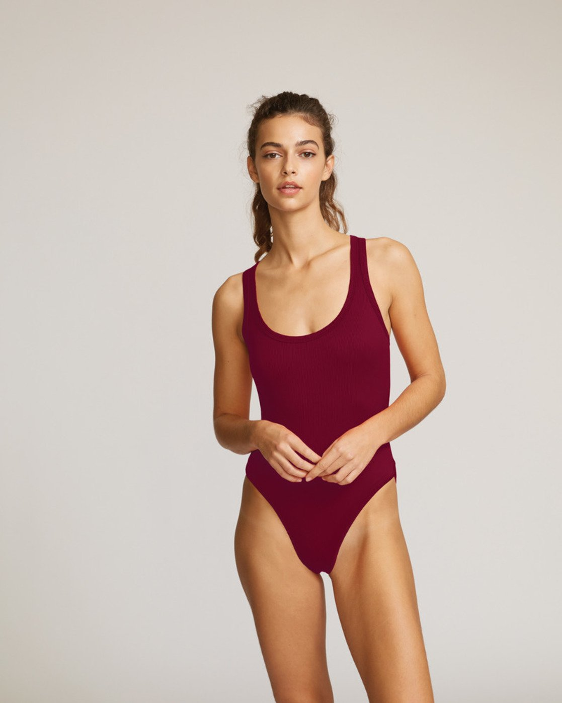 0 Fade Out Cheeky Onepiece Red R491824 RVCA