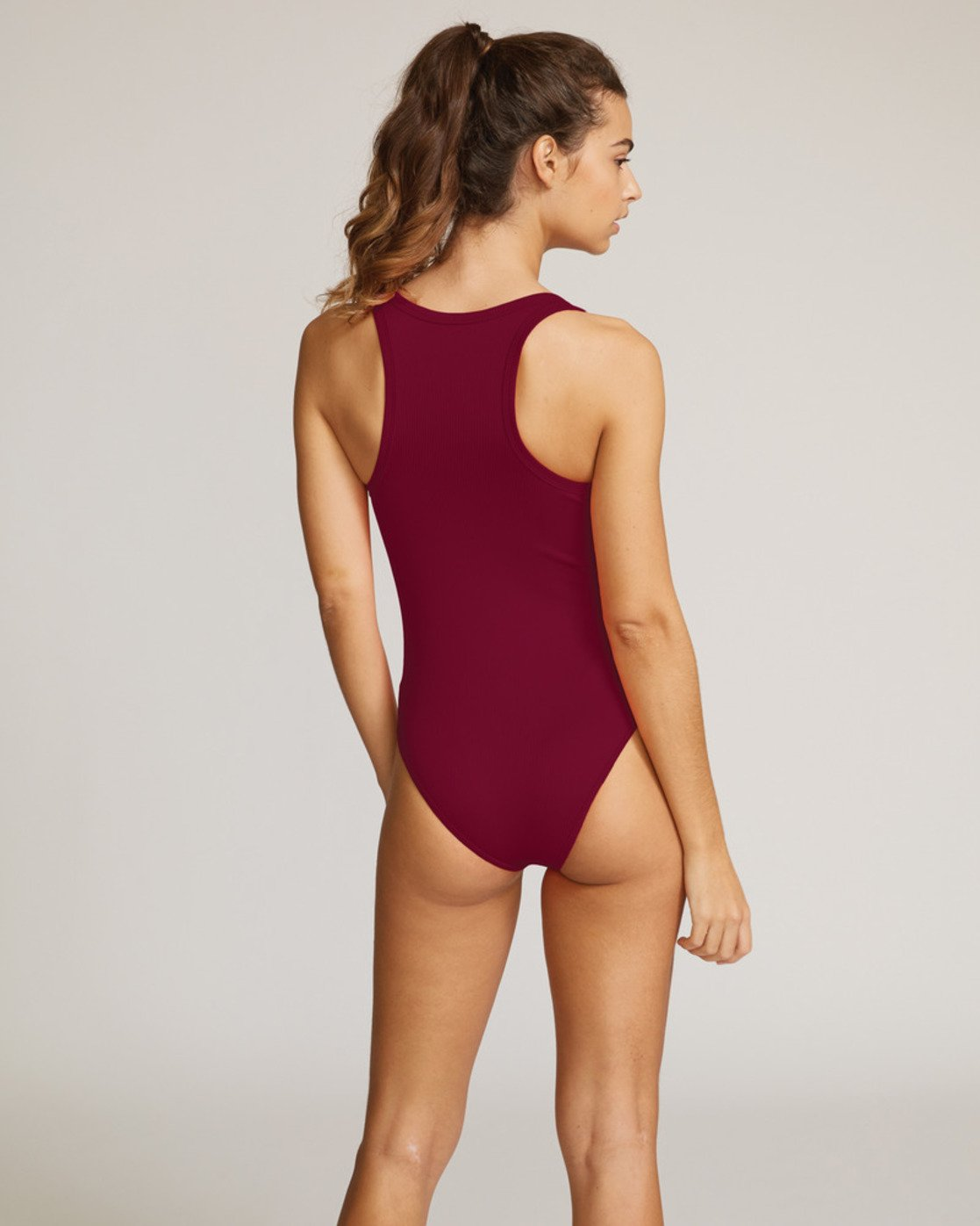 1 Fade Out Cheeky Onepiece Red R491824 RVCA