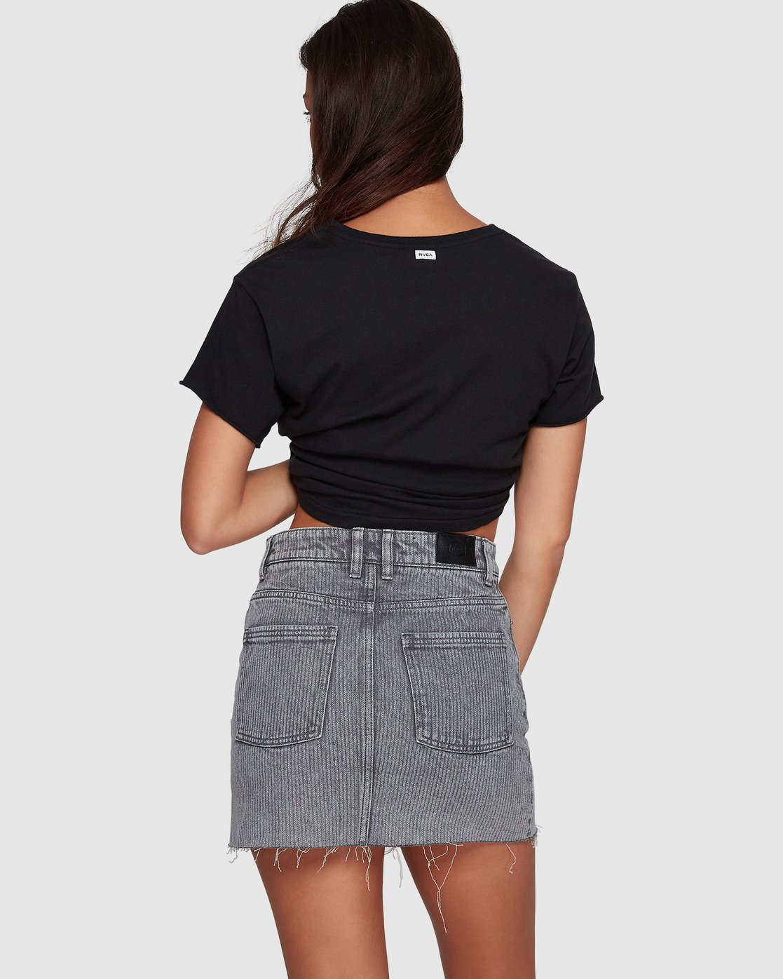 2 Siena Skirt Grey R491833 RVCA