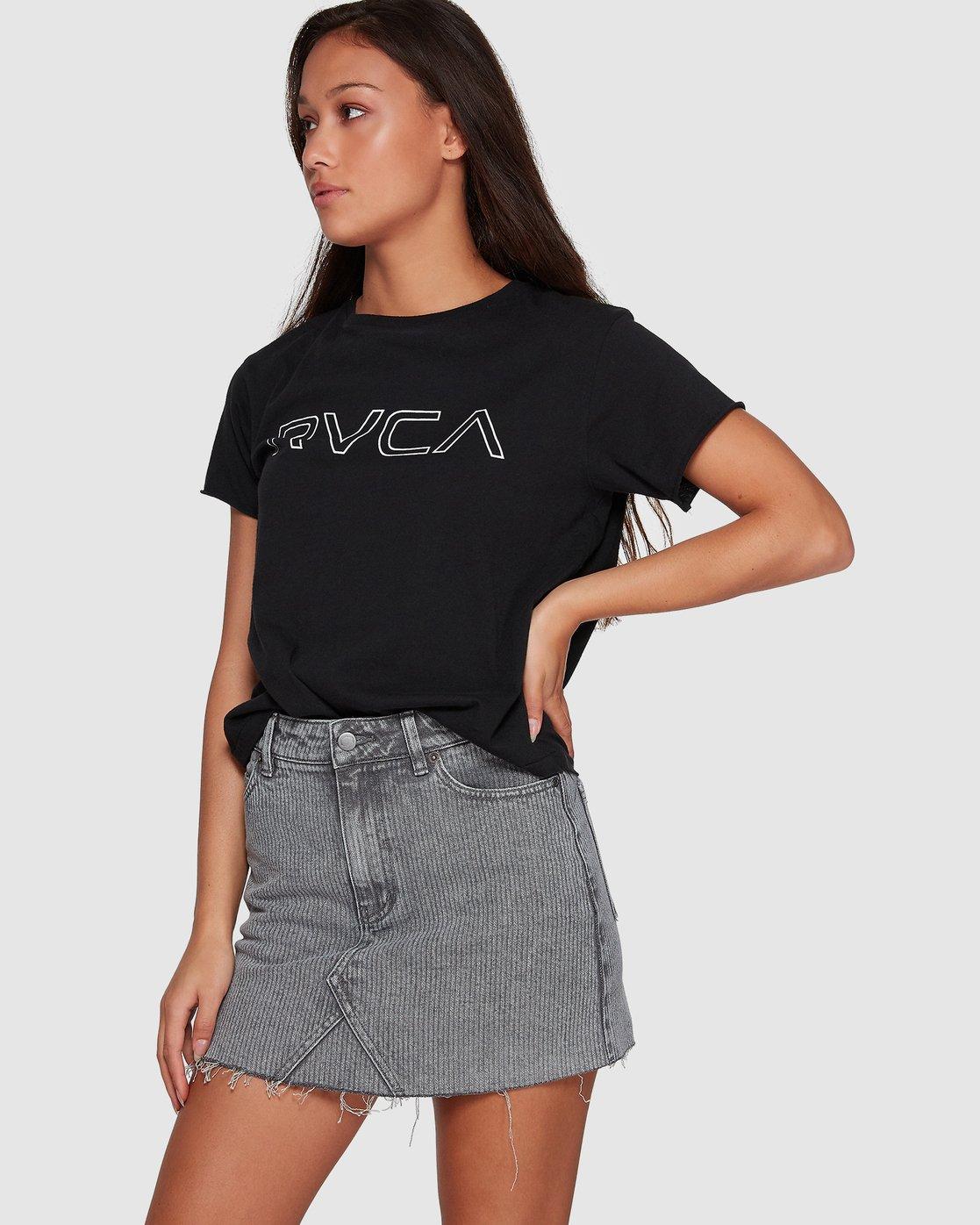 1 Siena Skirt Grey R491833 RVCA