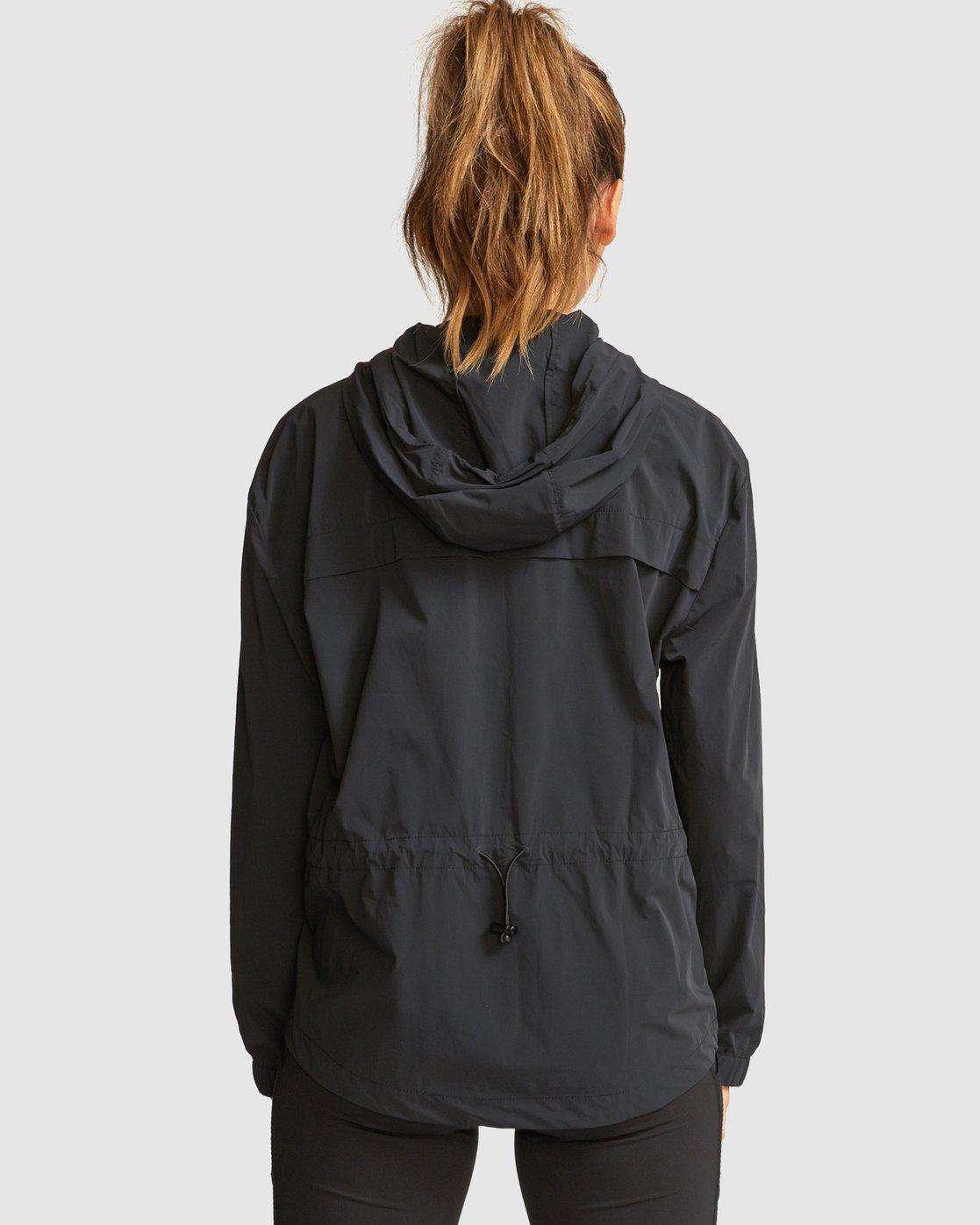 4 Flux Tech Jacket Black R491879 RVCA