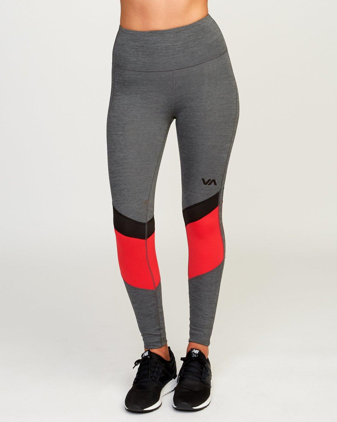 0 Va Levels Legging Grey R493273 RVCA