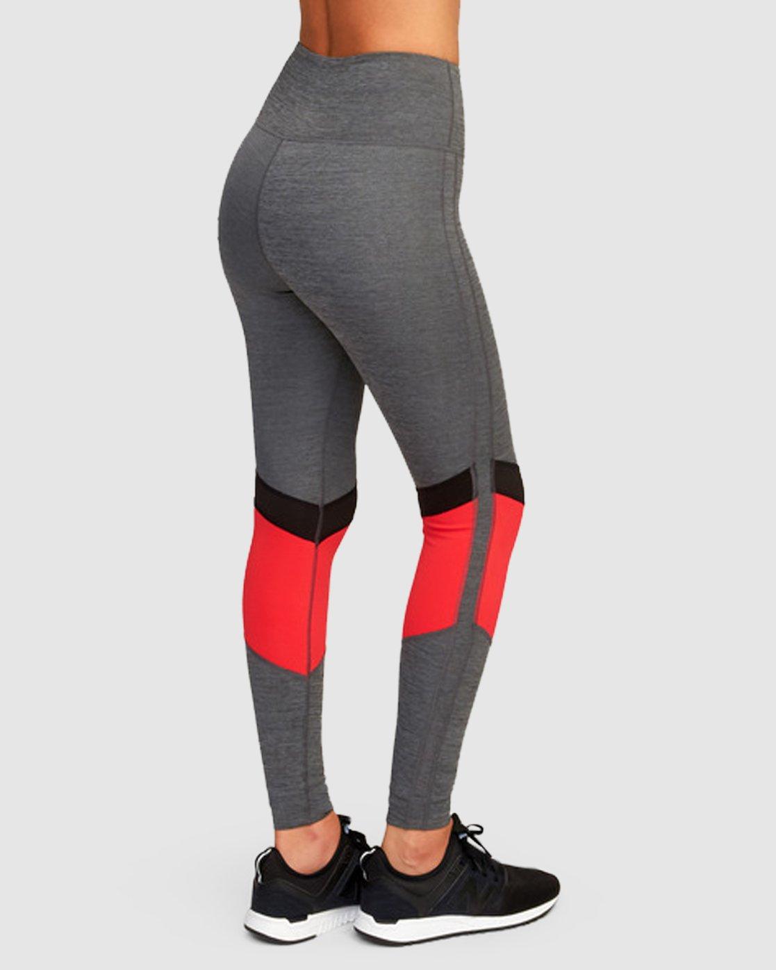 4 Va Levels Legging Grey R493273 RVCA