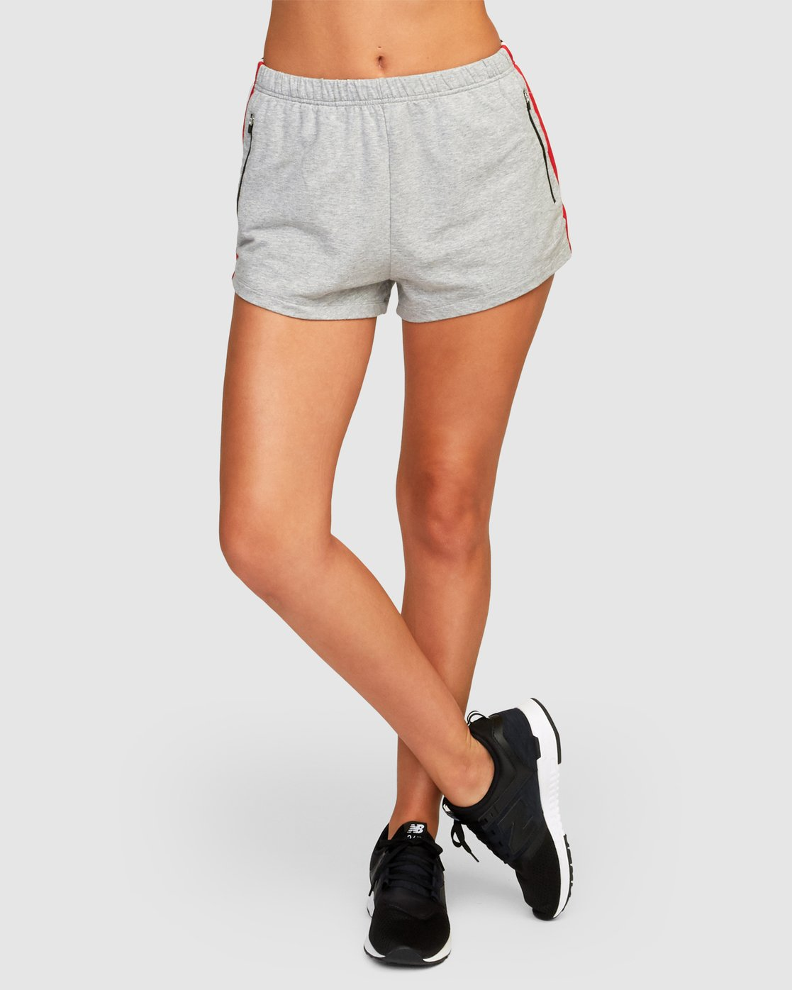 1 Ringside Sweat Short Grey R494311 RVCA