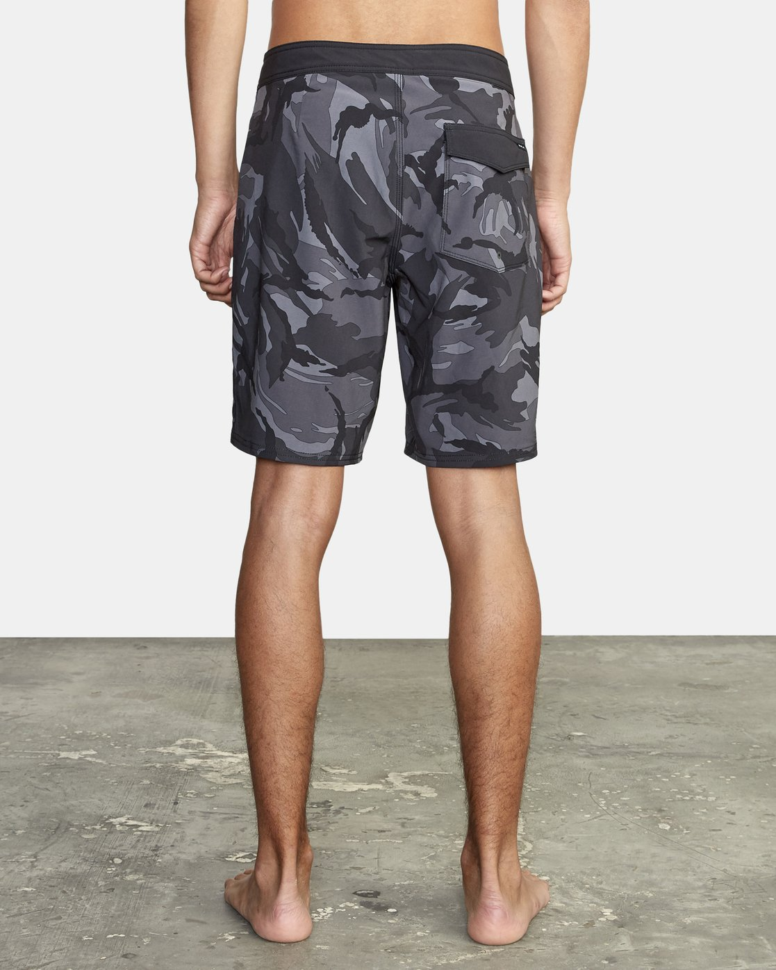 3 VA Trunk Print - Board Shorts for Men Black S1BSRJRVP0 RVCA