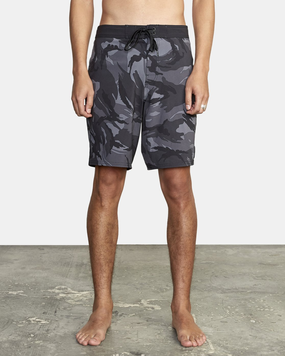 0 VA Trunk Print - Board Shorts for Men Black S1BSRJRVP0 RVCA