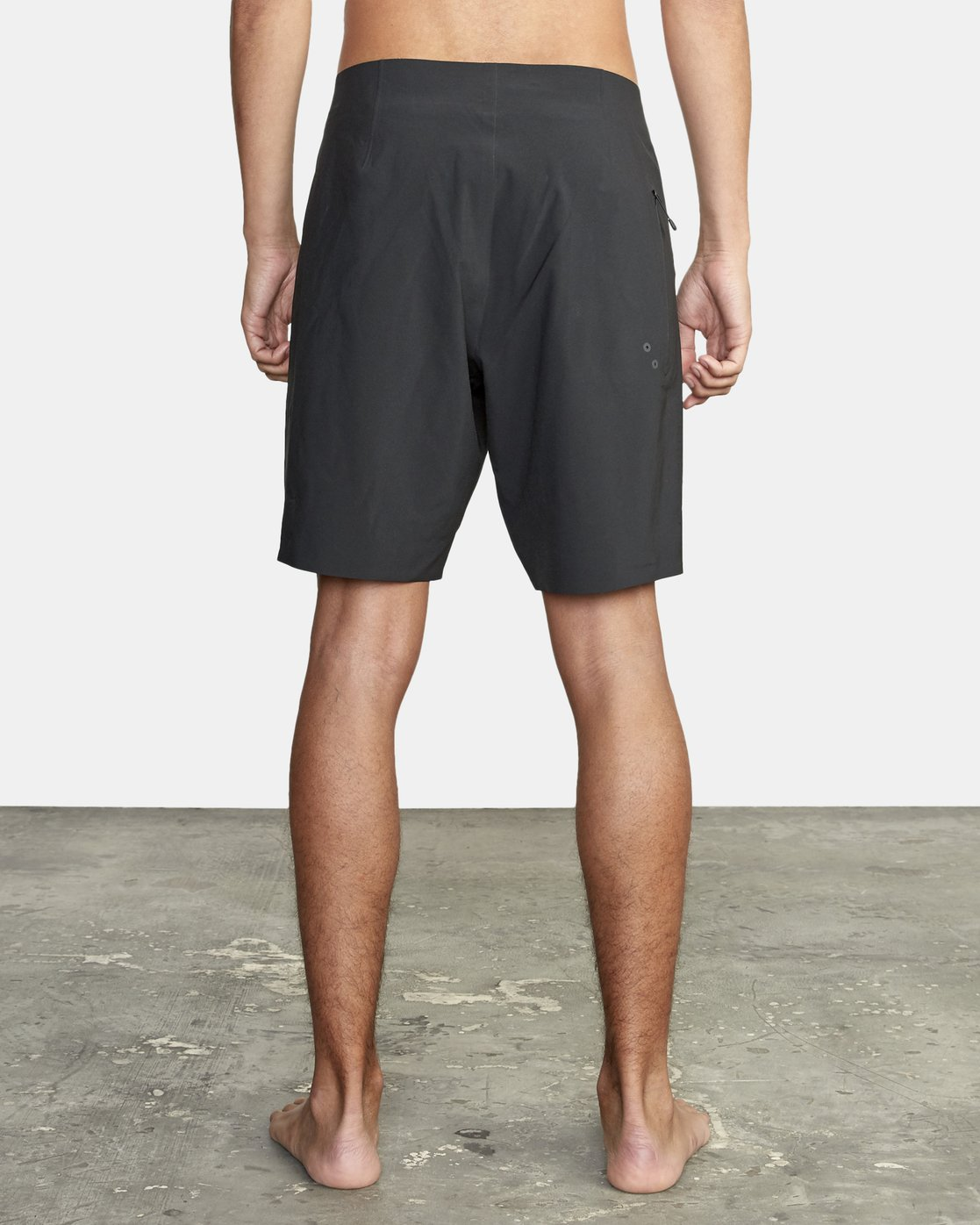 "4 Commander Trunk 18"" - Black Board Shorts for Men Black S1BSRLRVP0 RVCA"