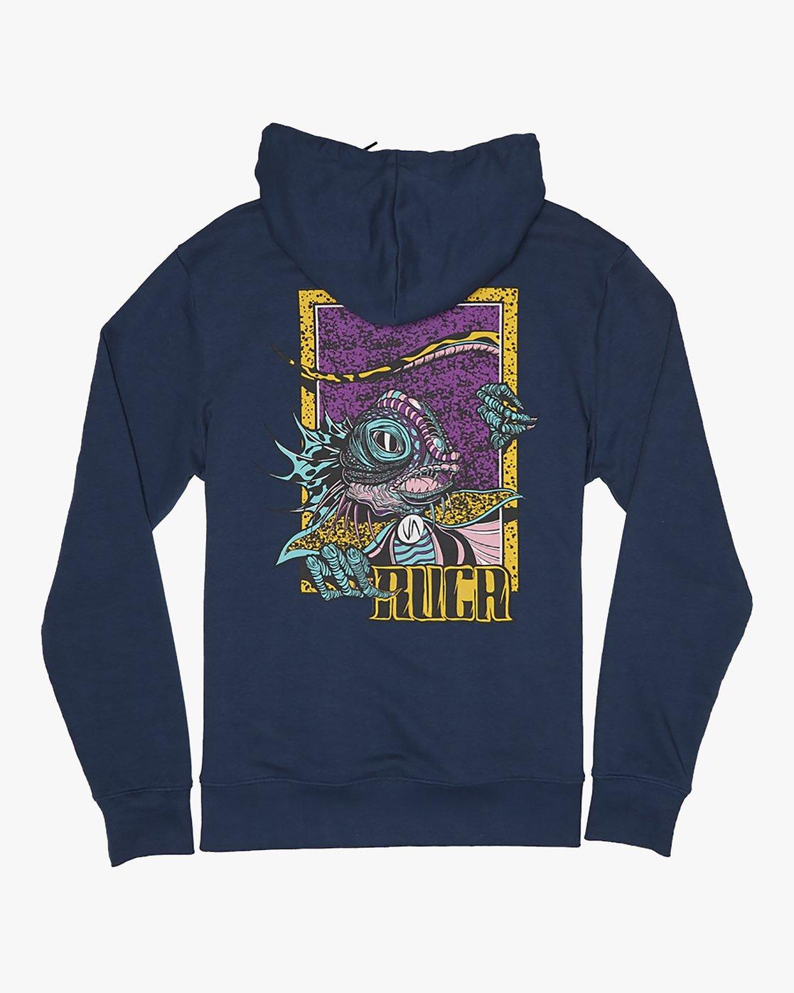 0 Roberto Redondo Lizard Wizard - Hoodie for Hoodie Blue S1HORGRVP0 RVCA