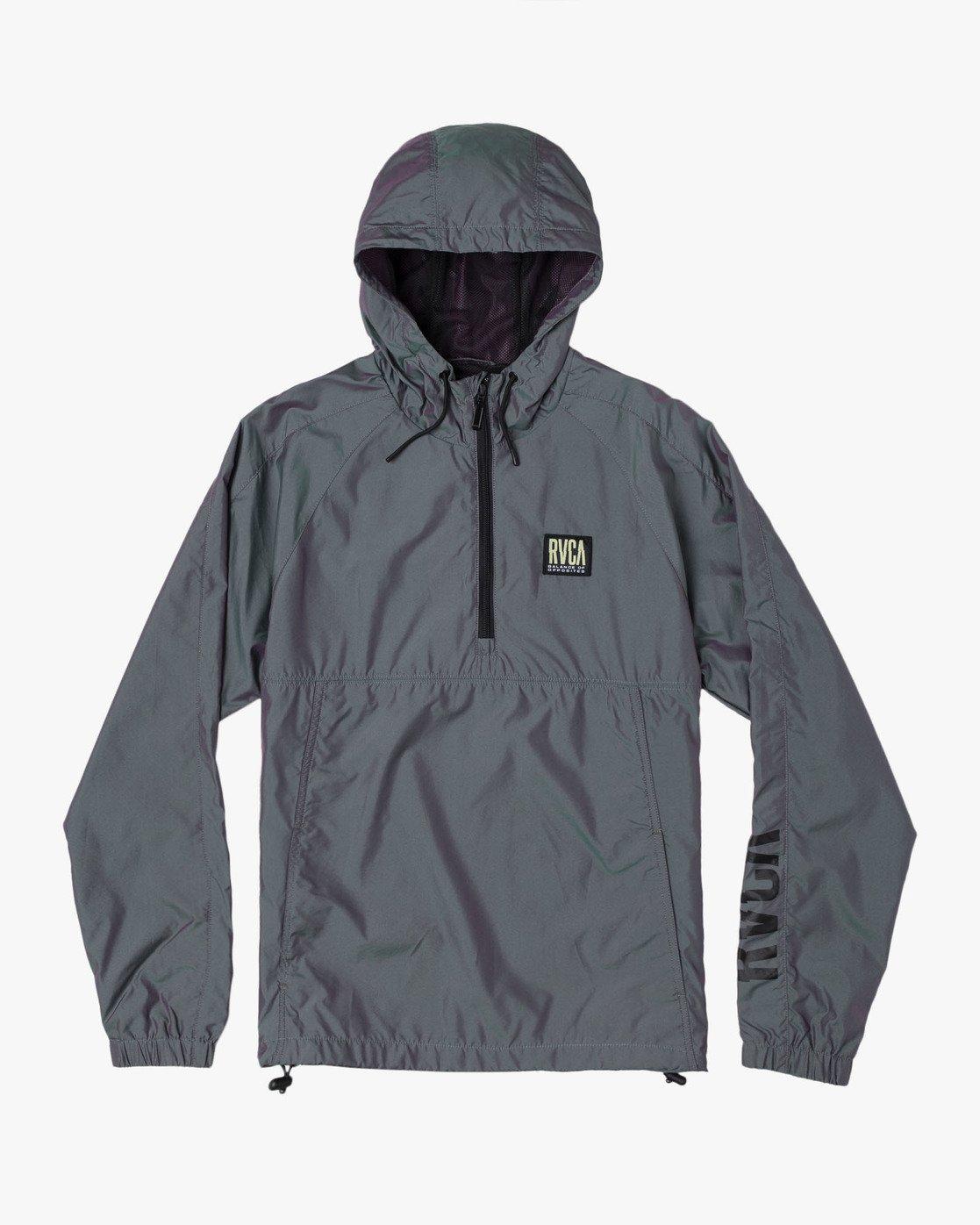 0 Hazed Zip  - Lightweight Iridescent Jacket for Men  S1JKRFRVP0 RVCA