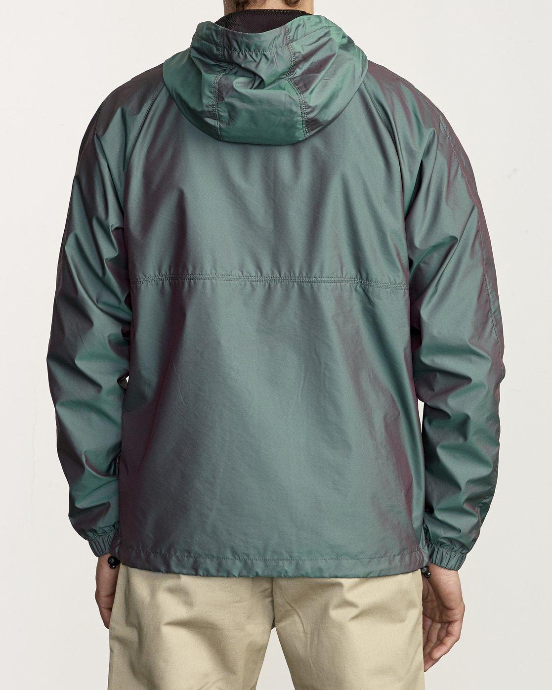 2 Hazed Zip  - Lightweight Iridescent Jacket for Men  S1JKRFRVP0 RVCA