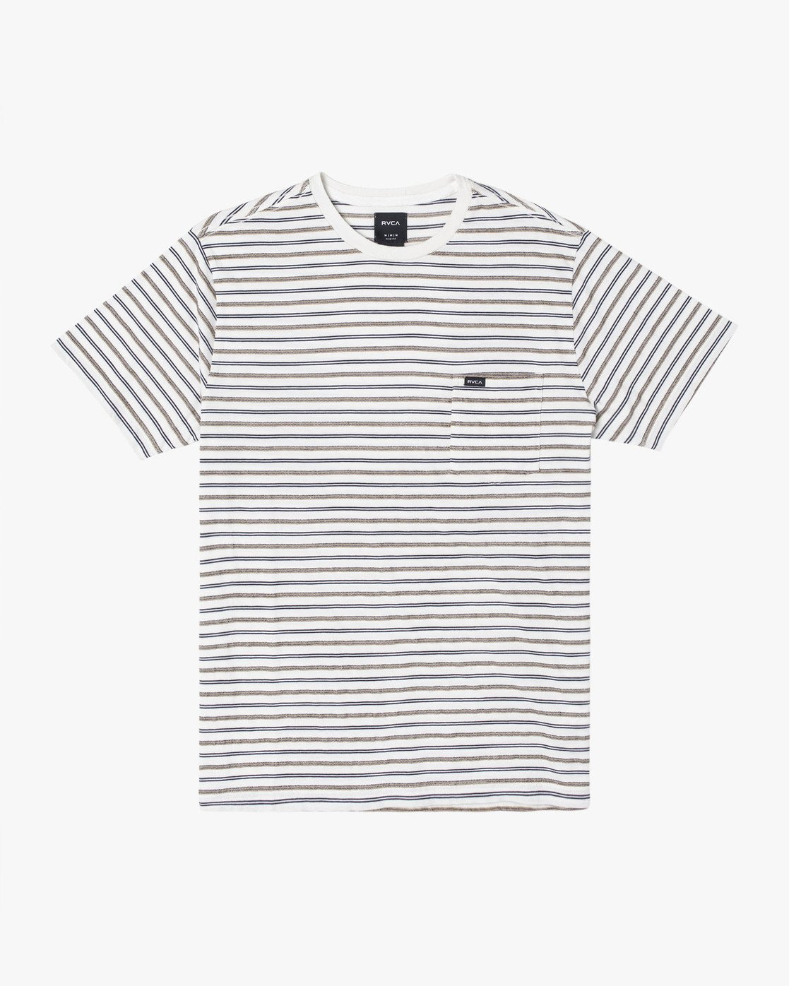 0 Runaway - Striped T-Shirt for Men White S1KTRDRVP0 RVCA