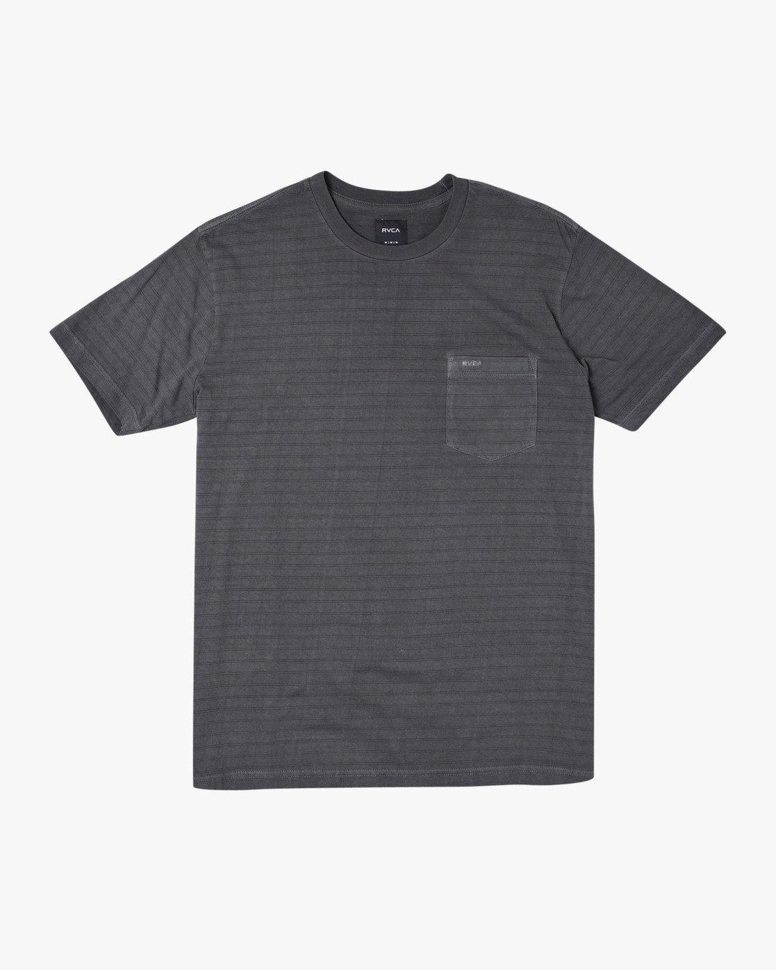 0 Ptc Stripe - Striped T-Shirt for Men Black S1KTRERVP0 RVCA