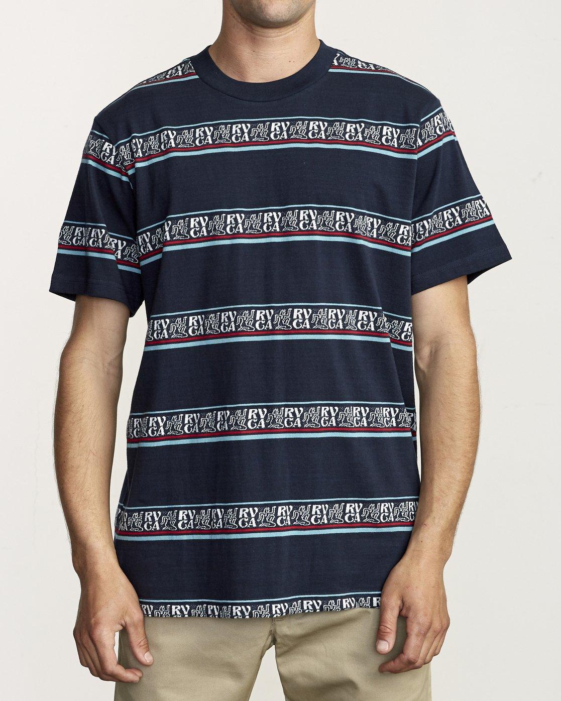 0 Cairo - Striped T-Shirt for Men  S1KTRFRVP0 RVCA