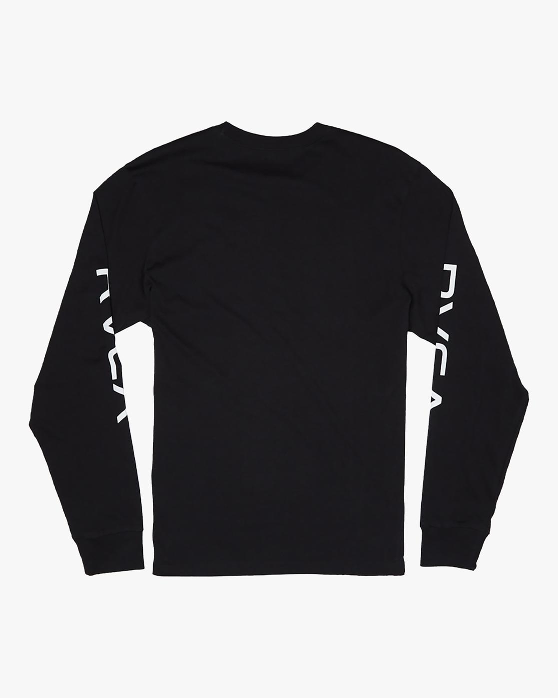 1 Big RVCA - Long Sleeve T-Shirt for Men Black S1LSRARVP0 RVCA