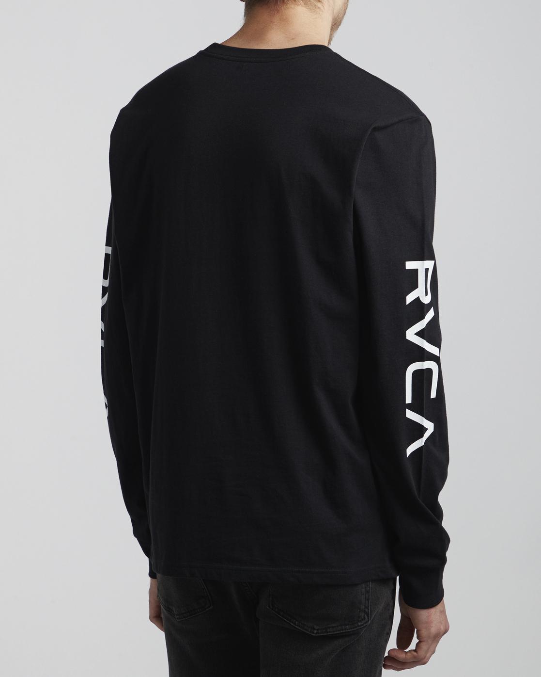4 Big RVCA - Long Sleeve T-Shirt for Men Black S1LSRARVP0 RVCA