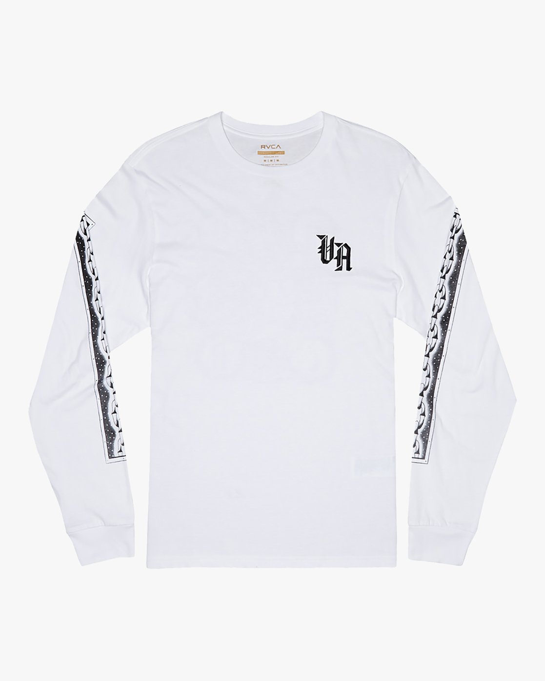 1 Benjamin Jeanjean Croco - Long Sleeve T-Shirt for Men White S1LSRCRVP0 RVCA