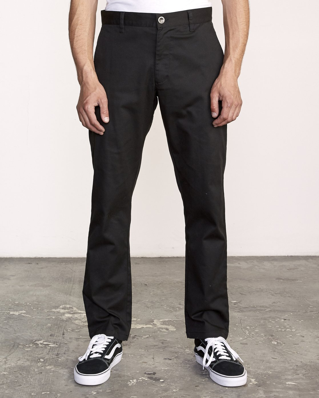 0 The Weekend Stretch - Woven Trousers for Men Black S1PTRFRVP0 RVCA