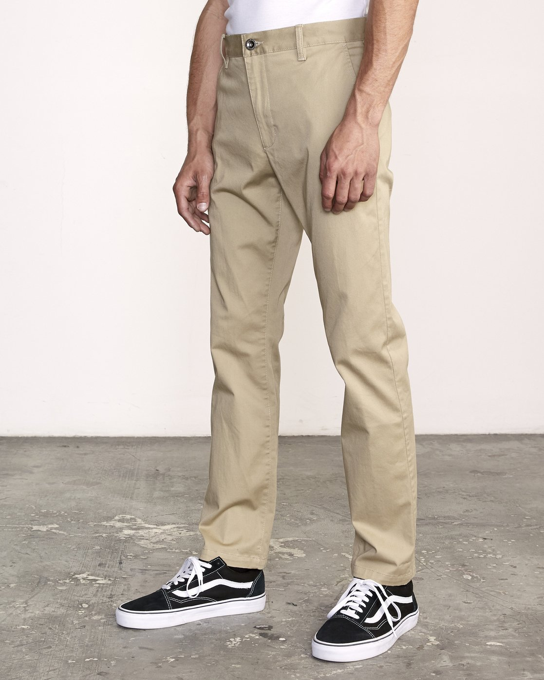1 The Weekend Stretch - Woven Trousers for Men Green S1PTRFRVP0 RVCA