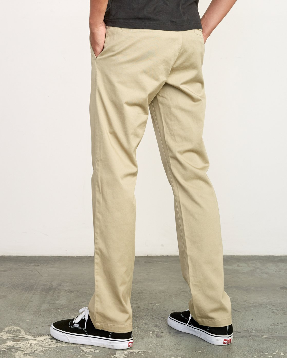2 The Weekend Stretch - Woven Trousers for Men Green S1PTRFRVP0 RVCA