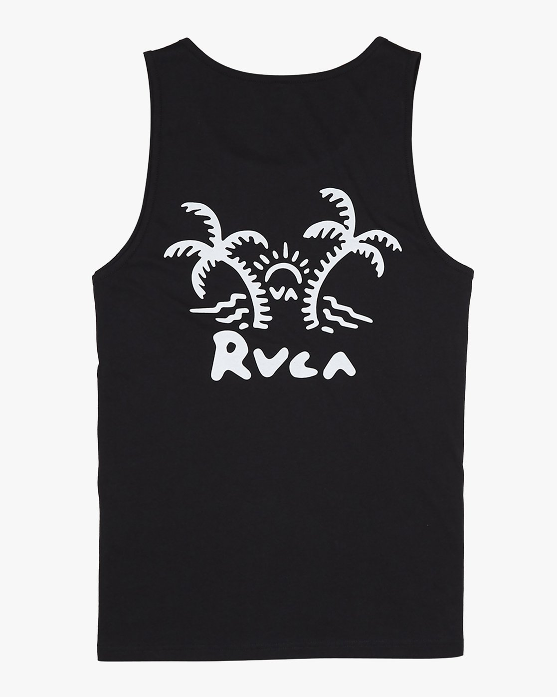4 Palmer - T-Shirt for Men Black S1SGRARVP0 RVCA